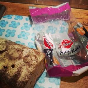 Prolonger l'esprit de Noël avec le pain de Noël de La boulangère