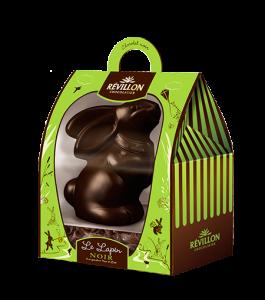 le-lapin-chocolat-noir