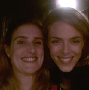 Avec Julie Andrieu