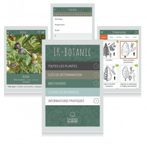 cheminement-appli-IK-Botanic-olivier