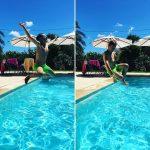 Concours de saut ! mousticks vacances menorca piscine Continuer lahellip